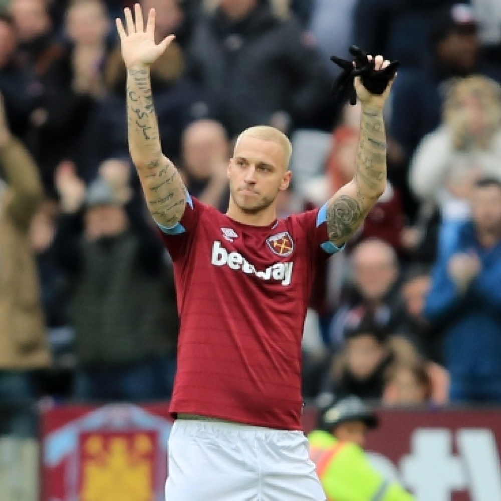 Pellegrini discusses Arnautovic's apparent farewell to West Ham fans