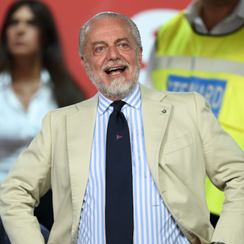 Controversial Napoli president wants Liverpool games moved