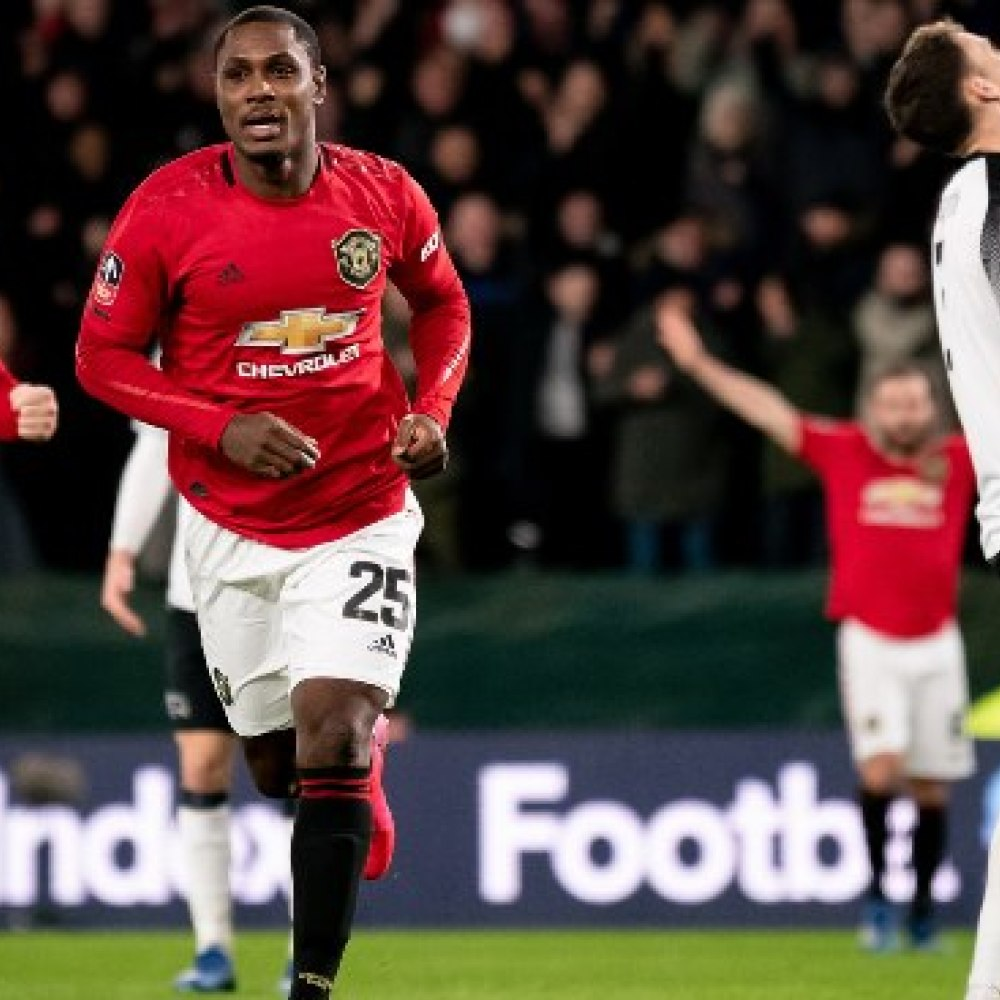 Ighalo hails three 'brothers' for helping him to settle at Man Utd