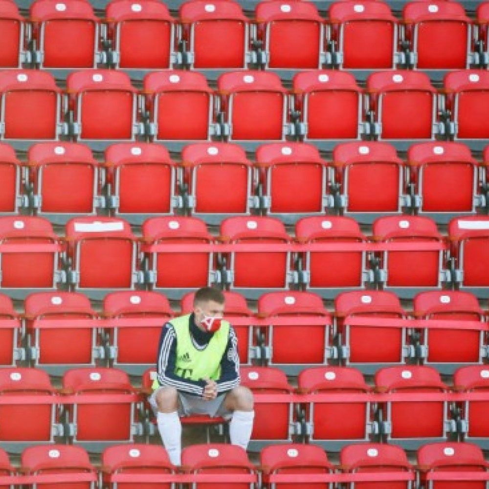 Watch Empty Football on TV and fans are forgotten…
