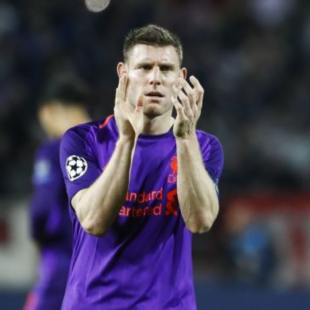 Milner names Liverpool's player of the season so far