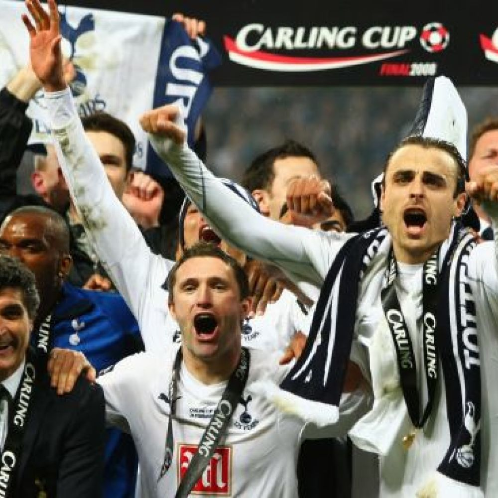 Berbatov on Spurs: 'The irony was that we won a cup'