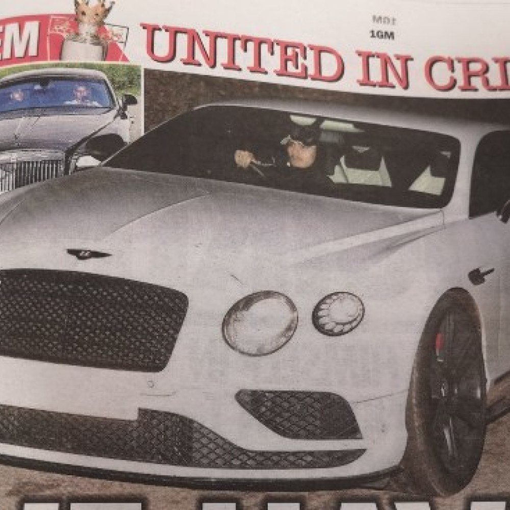 Obviously, Manchester United are sh*t because of the cars…