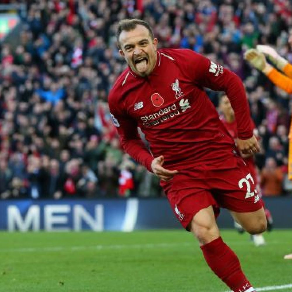 Liverpool's Shaqiri hits out at Neville, other critics